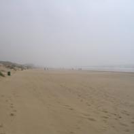 Thats the big sandy beach