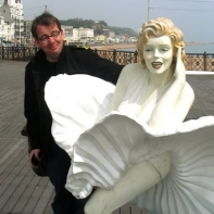 Thats me and a friend in Hastings