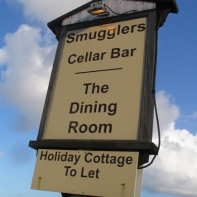 Thats where we went, a mile past the Blue Anchor