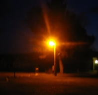 Thats the only street lamp for three miles