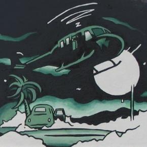 BRHW-003, acrylic on canvas, 2004