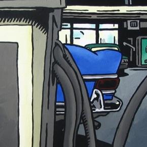 Service, acrylic on canvas, 2003