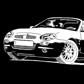 MGF sketch (Design to be painted on flag), 2015