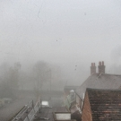 The View from the old Office on Bromsgrove High Street - November 2010