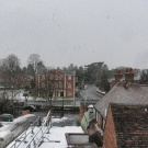 The View from the old Office on Bromsgrove High Street - December 2010