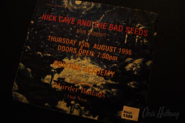 Nick Cave @ Brixton Academy