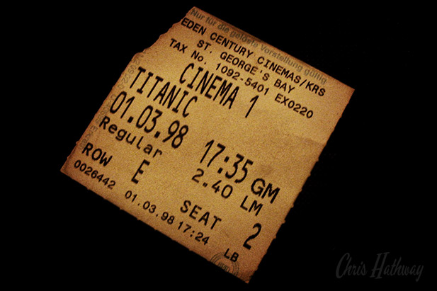 Titanic @ St Georges Bay Cinema, Malta