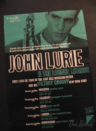 John Lurie @ Adrian Boult Hall, Birmingham