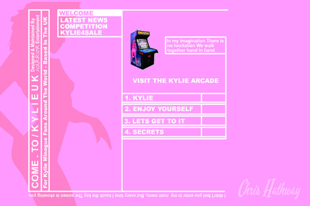 Kylie Minogue fan website