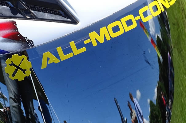 All Mod Cons logo sticker