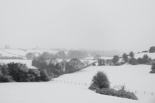 14/01/10 #uksnow Breakback Farm view