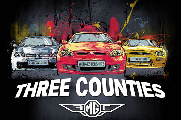 Design for 3 Counties MG T-Shirt