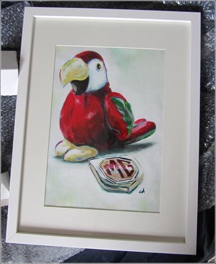 Martina the Parrot