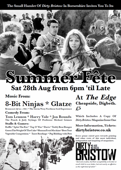 Dirty Bristow Summer Fete Poster