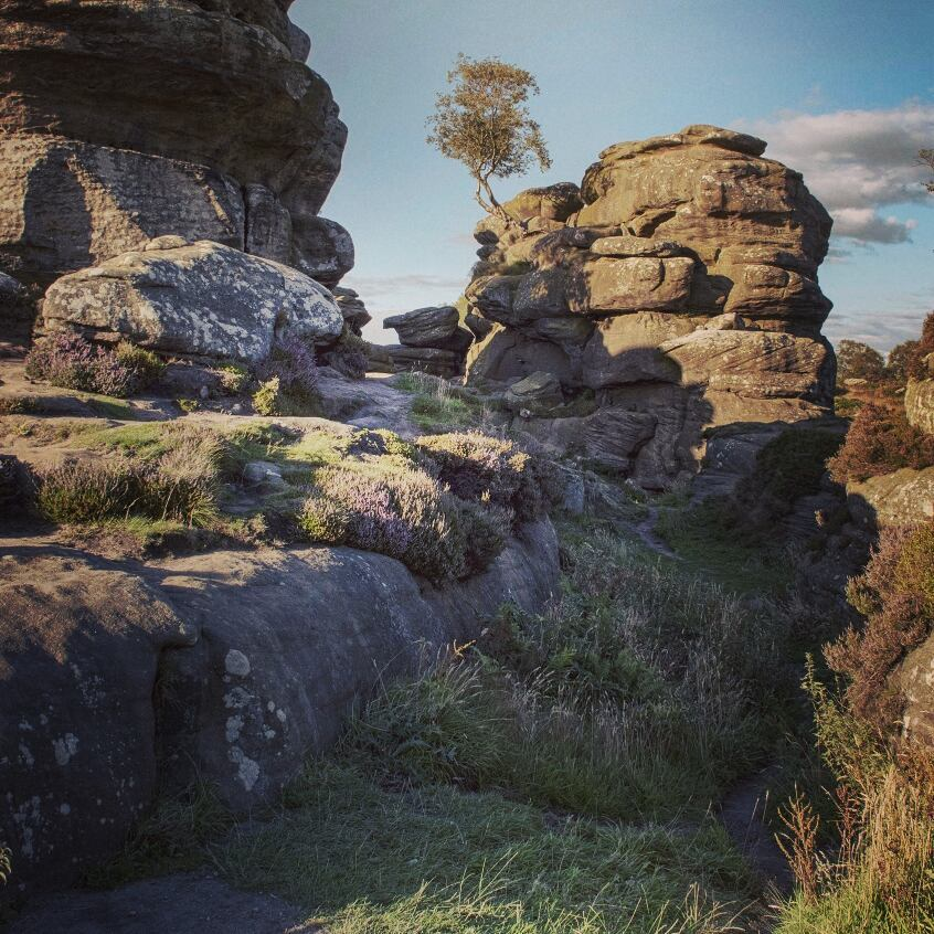 Brimham Rocks via Instagram