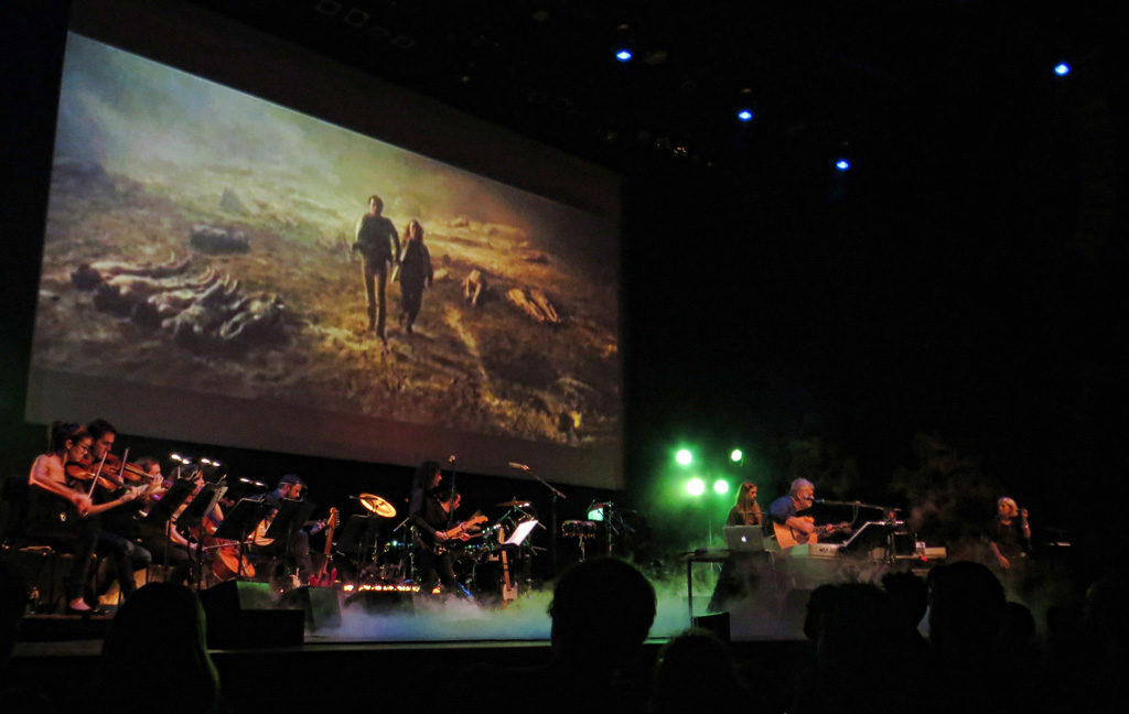 Frizzi 2 Fulci at The Barbican in October 2014